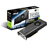 ASUS GeForce GTX 1070 TI 8GB GDDR5 Turbo Edition VR Ready DP HDMI DVI-D Graphics Card (TURBO-GTX1070TI-8G) (Renewed)
