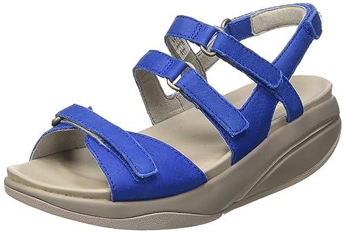 MBT Women s Kiburi 5 Sandals with Straps Blue Size  3.5  Amazon.co ... b1d5678696