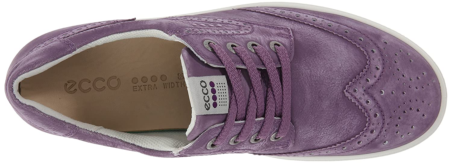 Ecco. Casual Hybrid Golf. Ladies. Sesame Leather. Lace