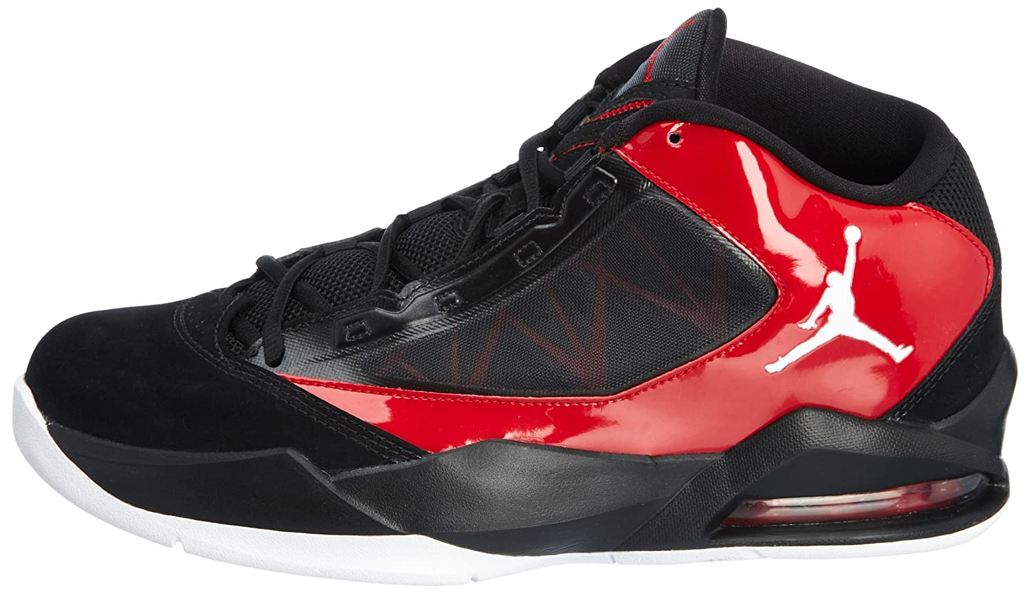 new concept 420e8 a3307 Jordan Flight-The-Power Black Red 2012 Air Mens Basketball Shoes 487207-002  BLACK WHITE-VARSITY RED 9 D(M) US  Buy Online at Low Prices in India -  Amazon.in