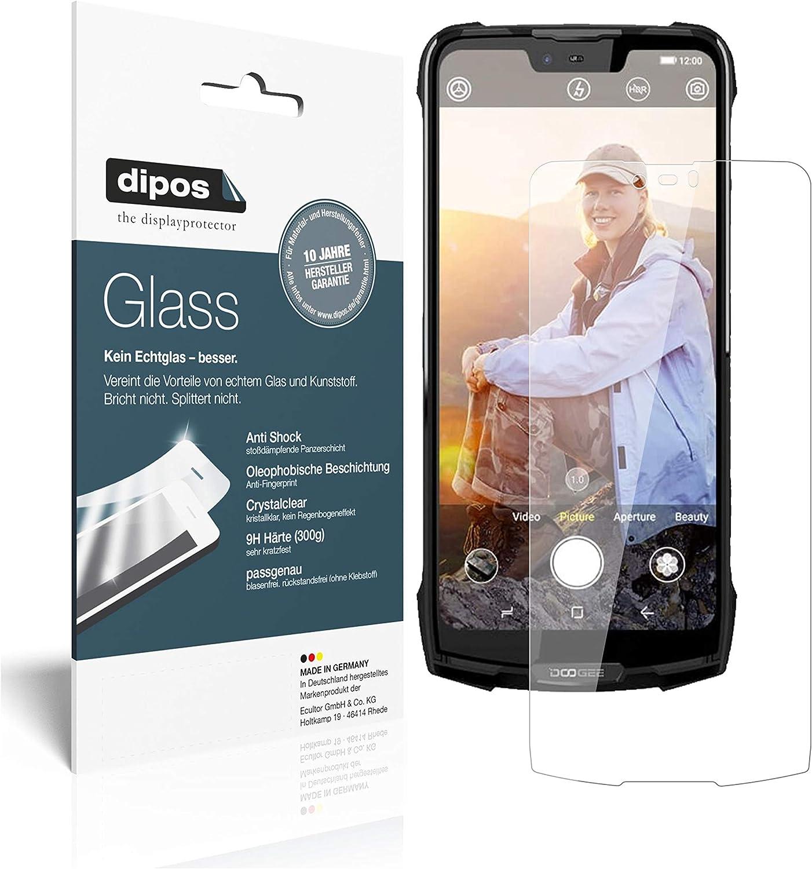 dipos I 2X Protector de Pantalla Compatible con Doogee S90 Vidrio ...