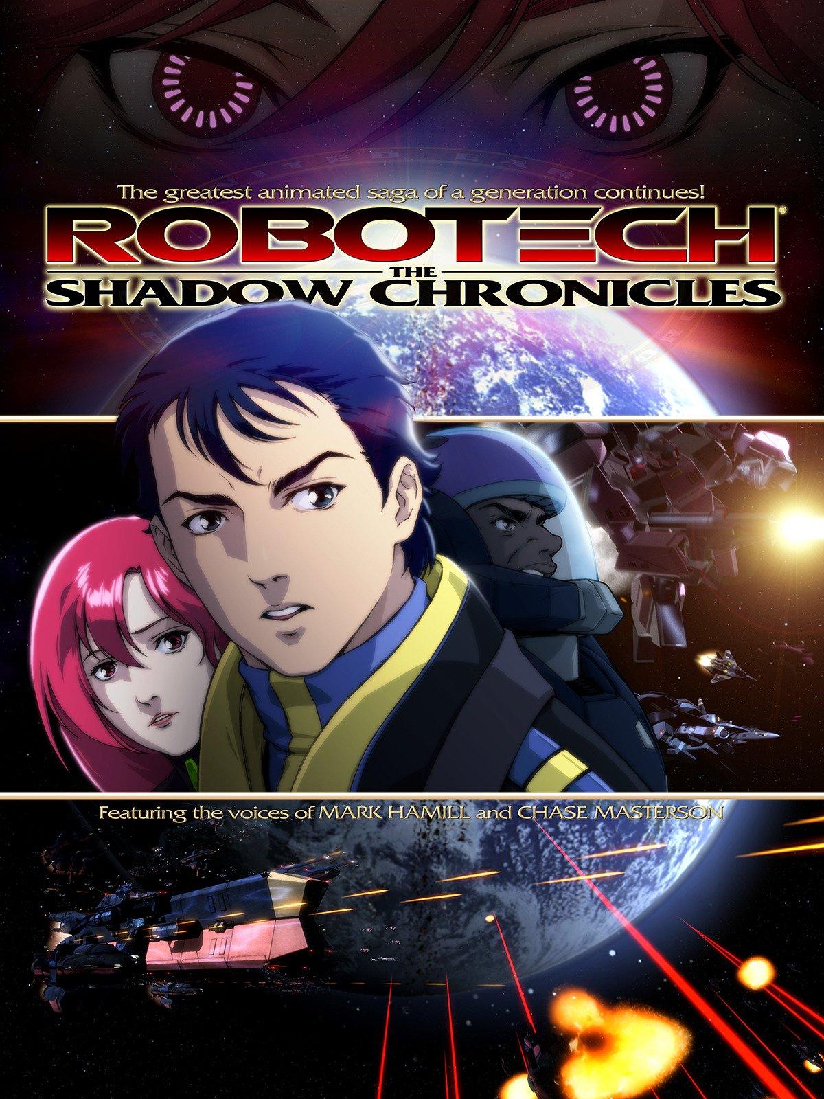 Amazon.com: Robotech: The Shadow Chronicles: Mark Hamill ...