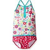 Hatley Girl's Color Block Swimsuit