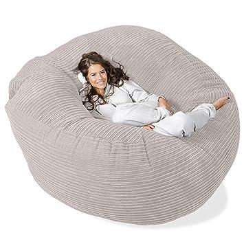 Lounge Pug Mega Mammoth Sofa Sitzsack Xxl Schlafsofa Cord