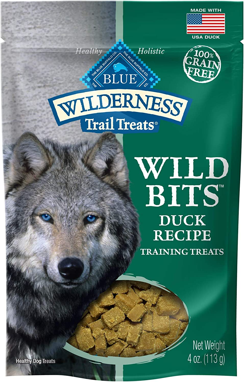Blue Buffalo Duck Wild Bits Trail Treats, 4 oz (8 Pack)