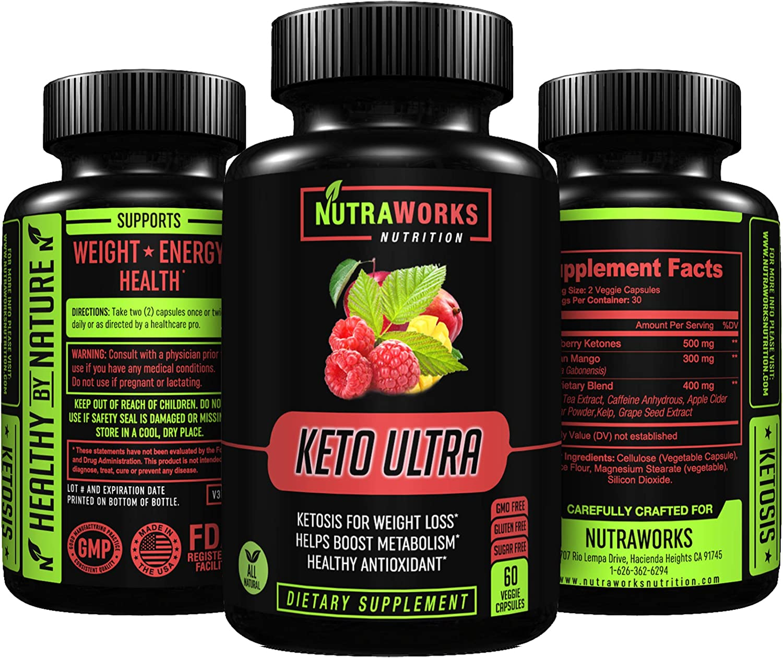 ingredients in keto ultra diet pills