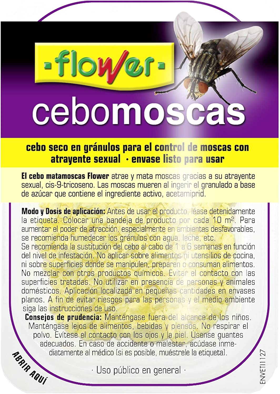 Flower - Cebo Fin Moscas Bandej.2X10Gr.20542