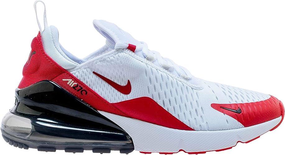 nike air max 270 blanco y rojo