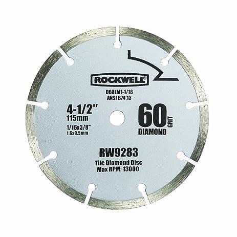 Rockwell rw9283 4 12 inch 60 grit diamond compact circular saw rockwell rw9283 4 12 inch 60 grit diamond compact circular saw blade greentooth Gallery