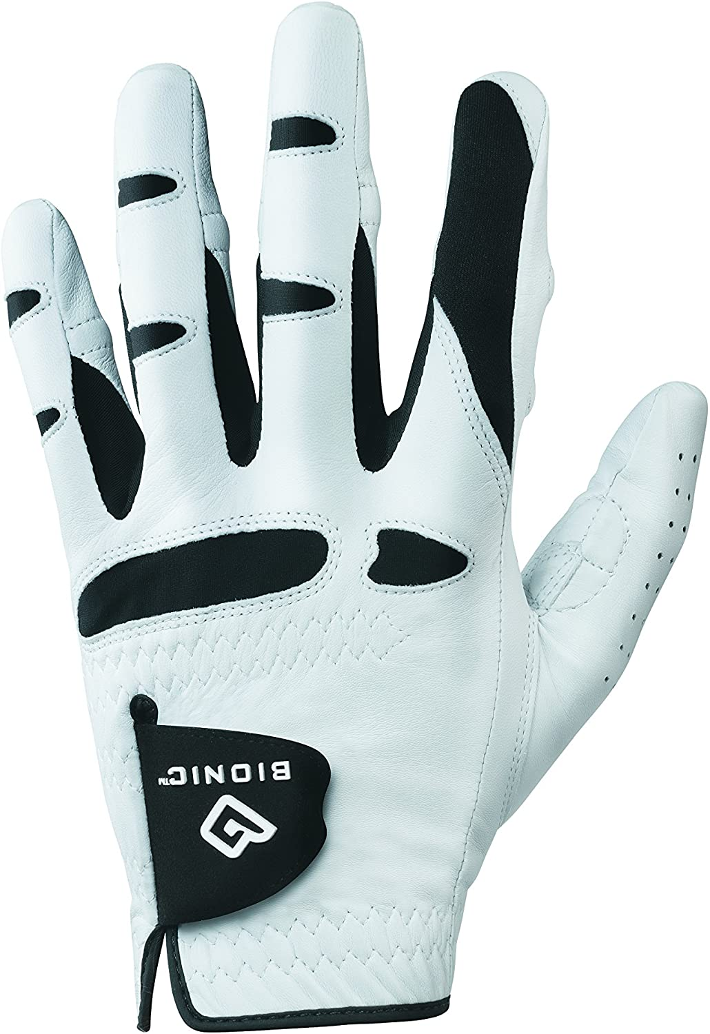 Bionic Gloves Men s StableGrip Golf Glove W Patented Natural Fit Technology Made from Long Lasting, Durable Genuine Cabretta Leather.