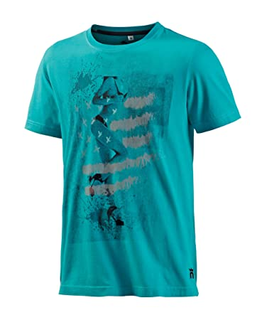 Neighborhood T Sport Freizeit Türkis Herren Shirt L amp; SxrPAS8q