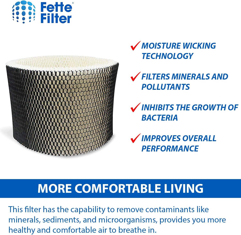 HWF75CS Fette Filter 2-Pack Humidifier Filter Compatible with Holmes HWF75 HWF75PDQ-U Filter D