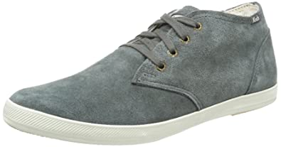 3a1400a493aaf Keds Mens Champion Chukka Suede Gray Sneakers 8 D - Medium