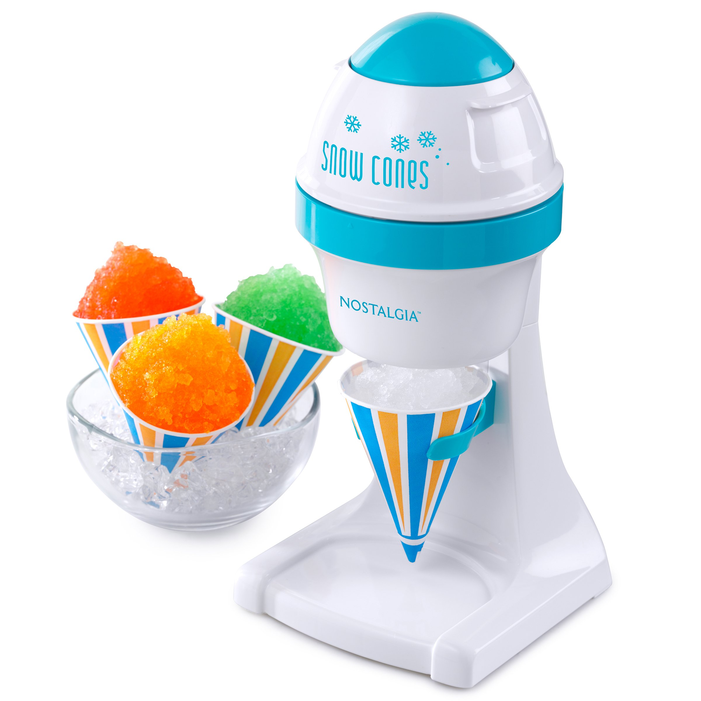 Nostalgia ISM1000 Electric Shaved Ice & Snow Cone Maker by NOSTALGIA