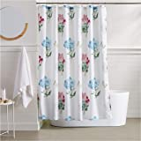 AmazonBasics Wildflower Shower Curtain - 72 Inch
