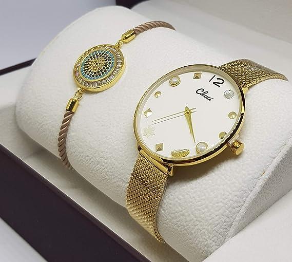 Conjunto Reloj y Pulsera/Mujer