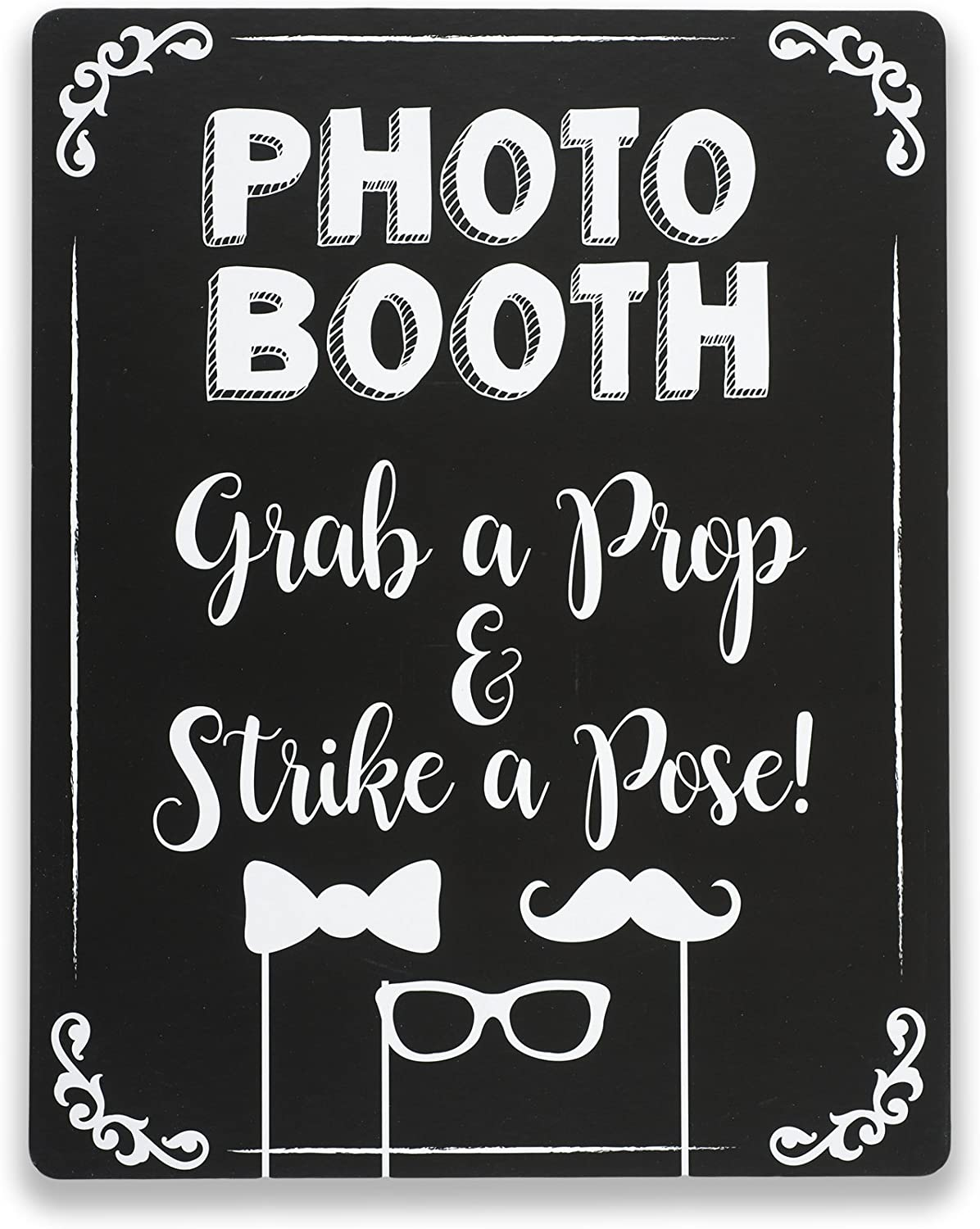 Photo Booth White Board Signs for Weddings and Parties Whiteboard Photobooth XL Whiteboard Photo Booth Signs White Board Photo Booth