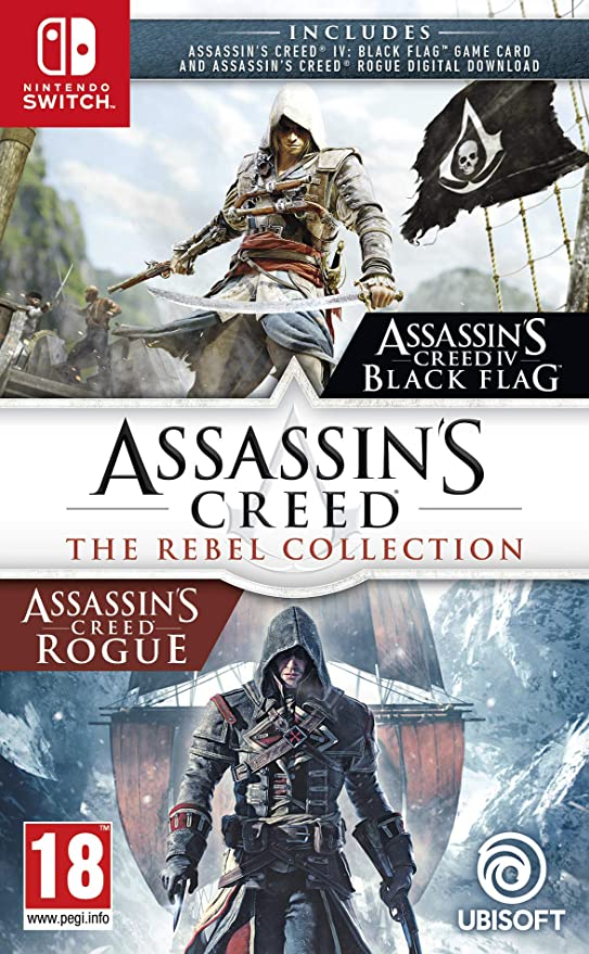 Assassins Creed: The Rebel Collection - Nintendo Switch [Importación inglesa]: Amazon.es: Videojuegos