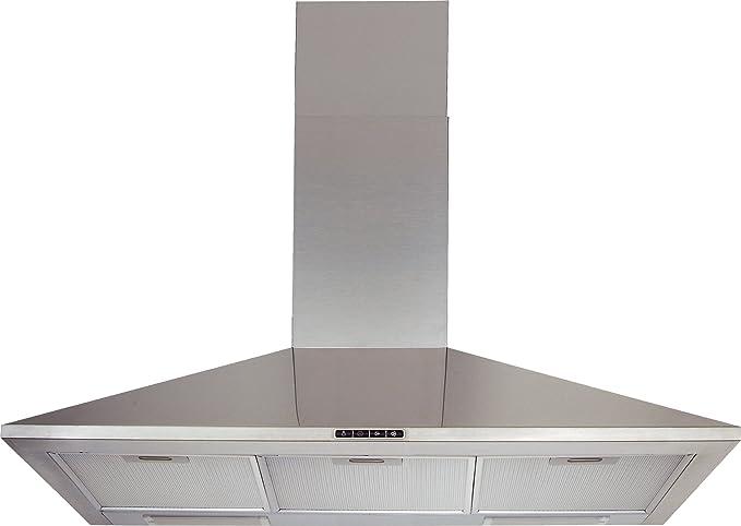 Bauknecht dkm 1393 in dunstabzugshaube 90 cm 412 m3 h metall