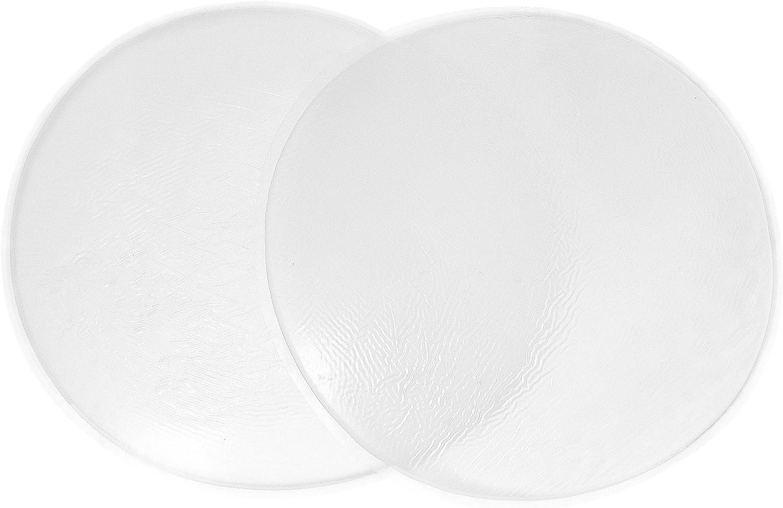 Insertos de Silicona Redondo para un Hermoso Trasero Almohadillas y Rellenos de Silicona 360g//Par Sodacoda
