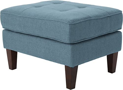 Christopher Knight Home Nasir Mid-Century Modern Fabric Ottoman