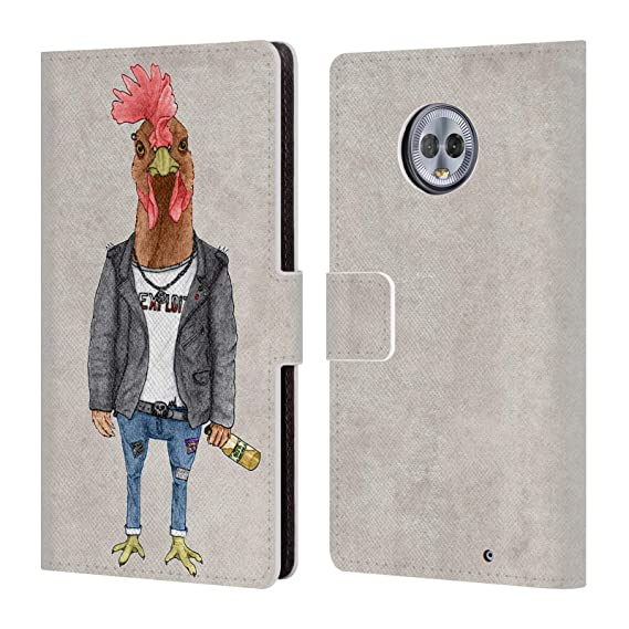 Cell Phone Accessories Official Barruf Animals Leather Book Wallet Case Cover For Motorola Phones 2