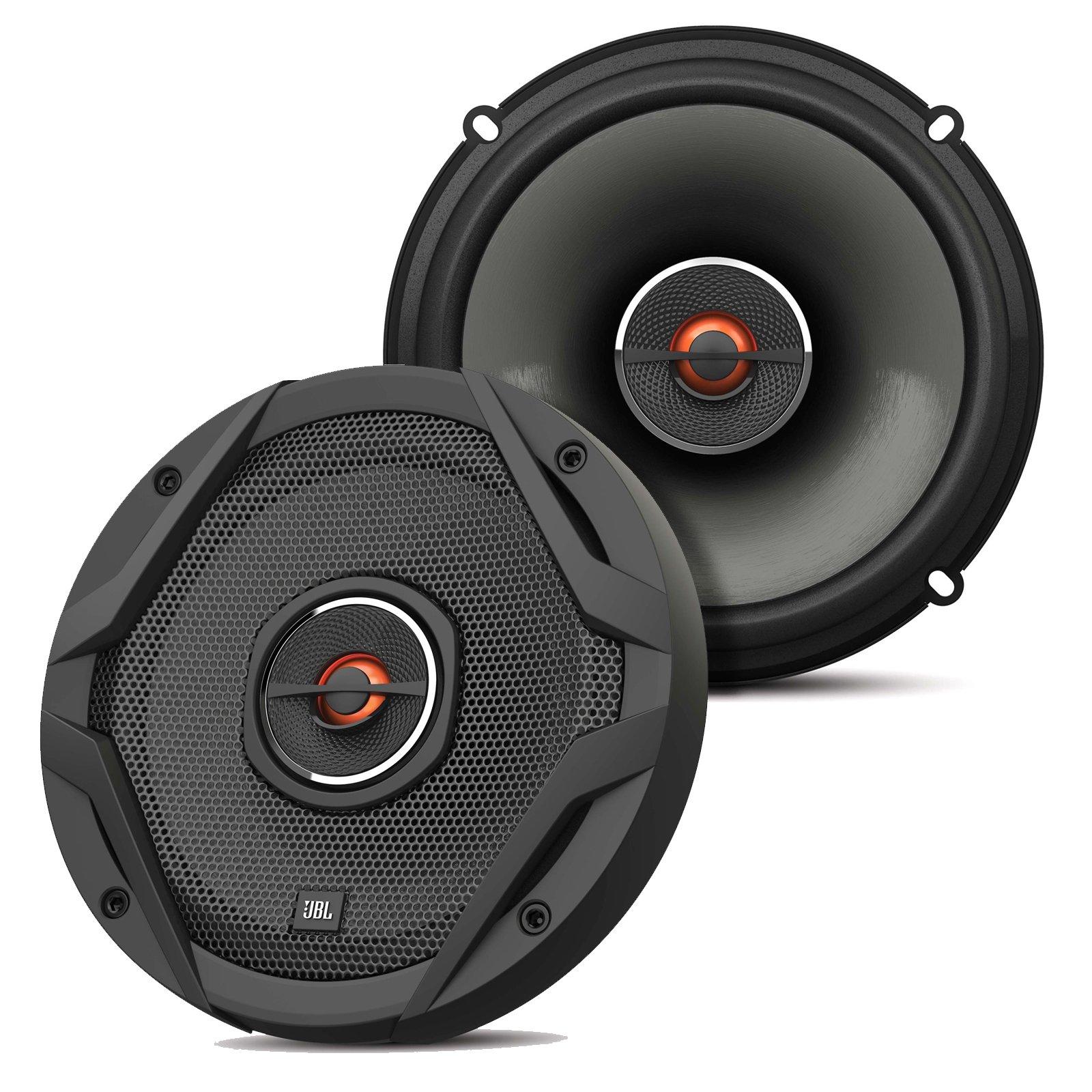 JBL GX602 180W 6.5'' 2-Way GX Series Coaxial Car Loudspeakers (Certified Refurbished)