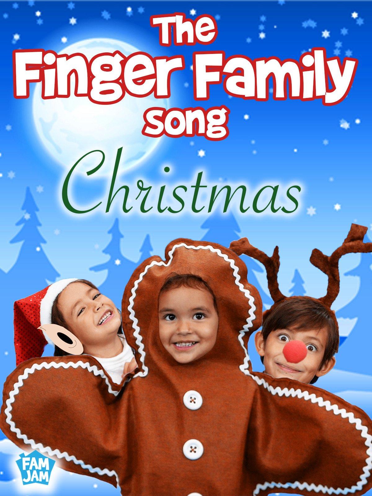Amazon.com: The Finger Family Song Christmas: Azevedo Family, Aaron ...
