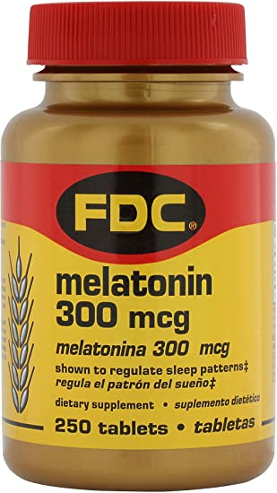 Amazon.com: FDC Melatonina 300 mcg: Health & Personal Care