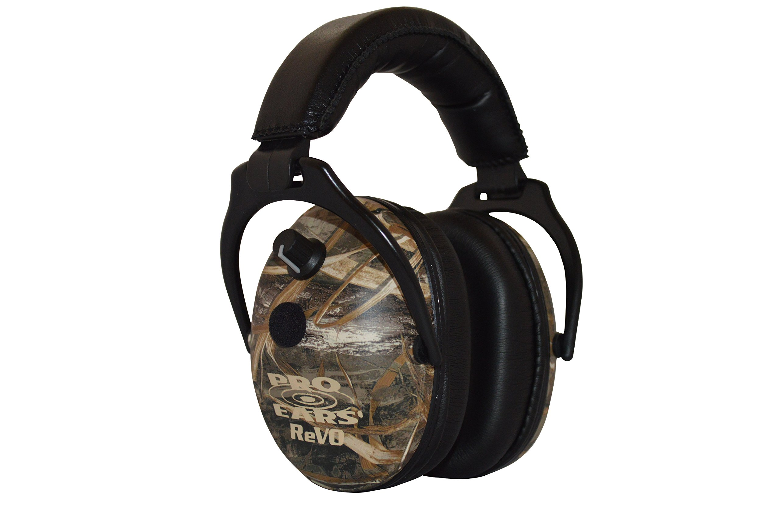 Pro Ears - ReVO - Electronic Hearing Protection and Amplification - NRR 25 - Youth and Women Ear Muffs - Max 5 Camo