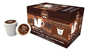 Cafe Tastlé Chocolate Hazelnut Single Serve Coffee, 24 Count
