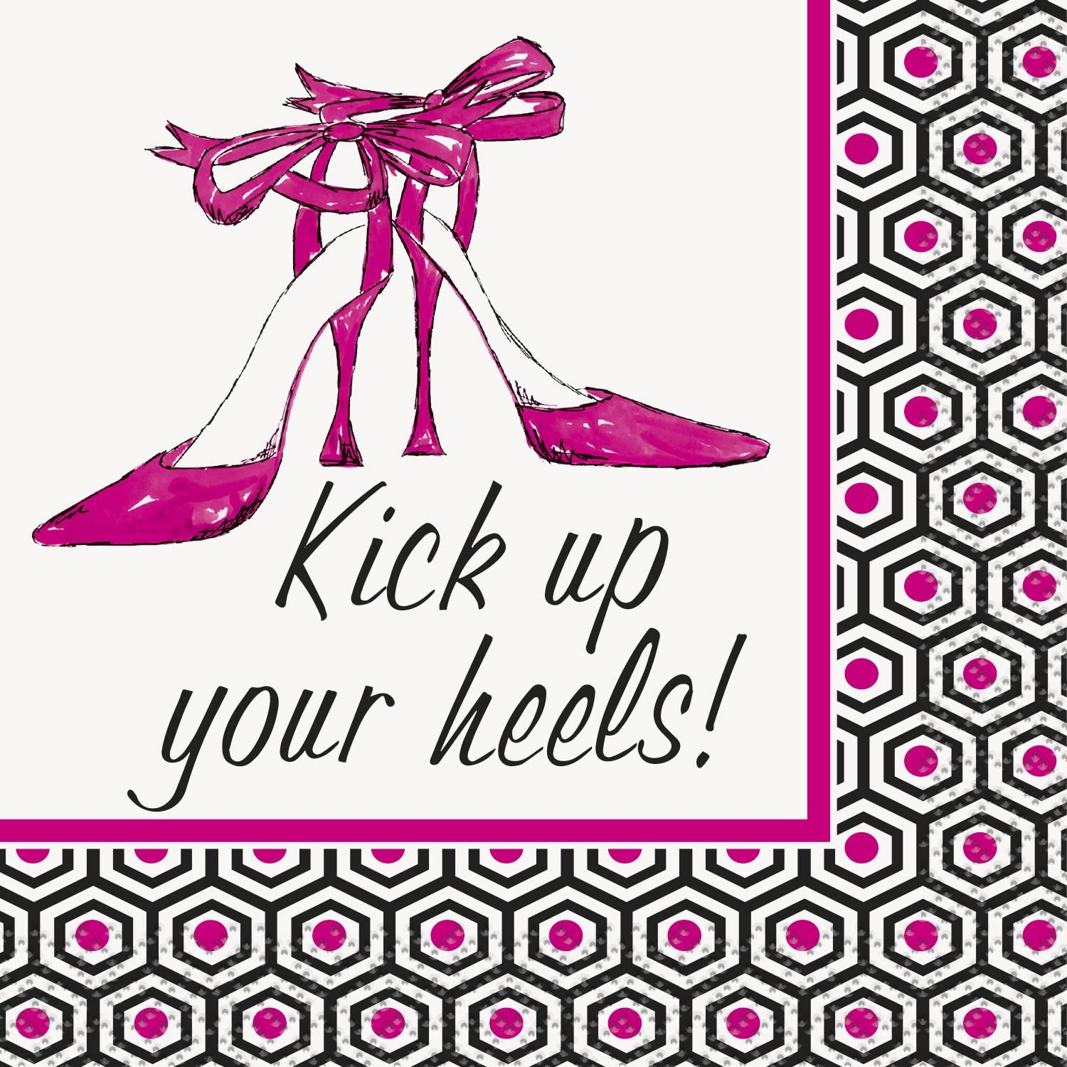 Kick Up Your Heels Girls Night Out Cocktail Napkins, 16ct