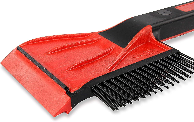 Wirth 2 In 1 Eiskratzer Mit Schneebesen Made In Germany Robuster Eisschaber Für Müheloses Eisentfernen Auto