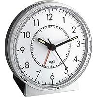 TFA TFA60.1010 Analog Görünümlü Elektronik Alarmlı Masa Saati, Siyah