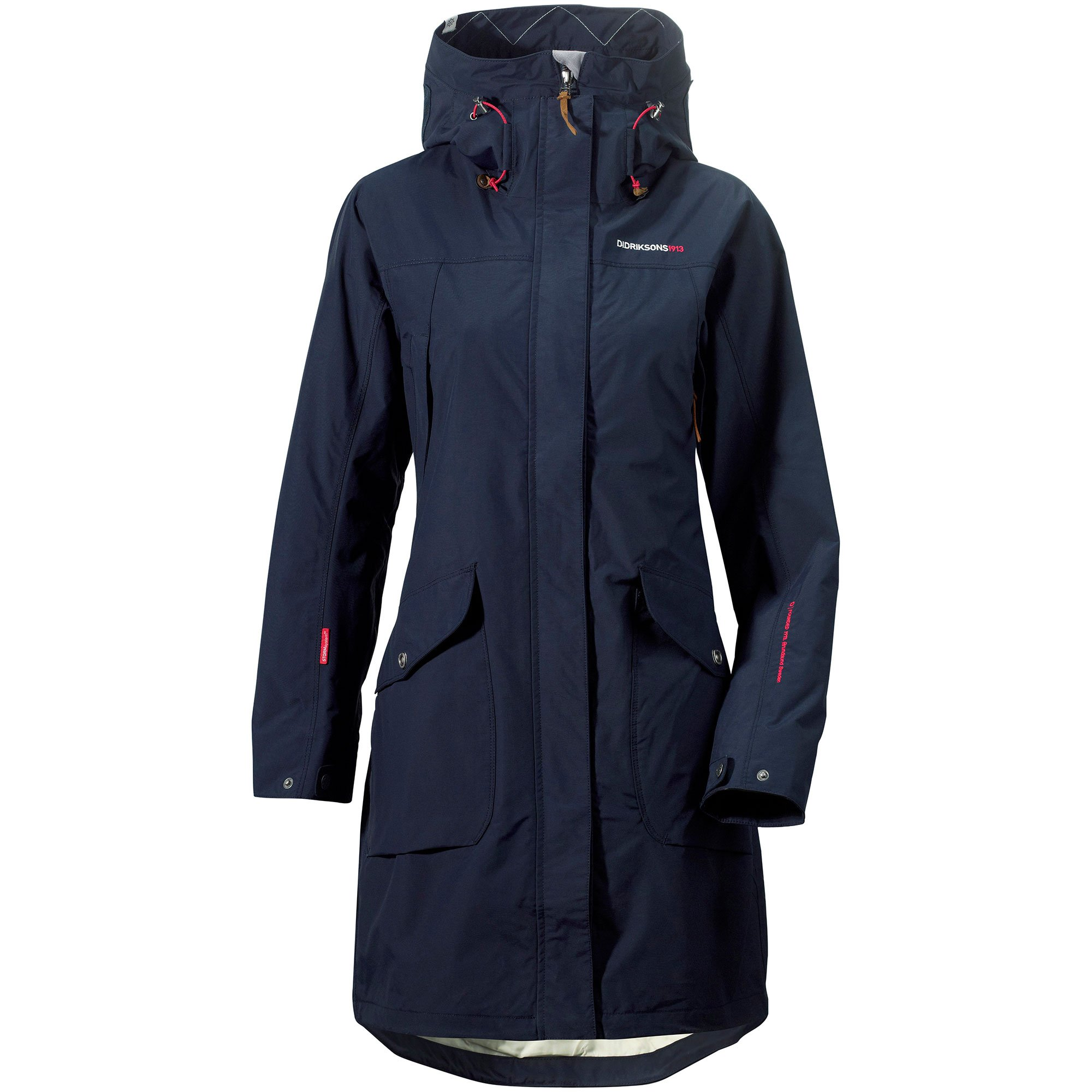 Didriksons Ladies Thelma Coat Navy 42