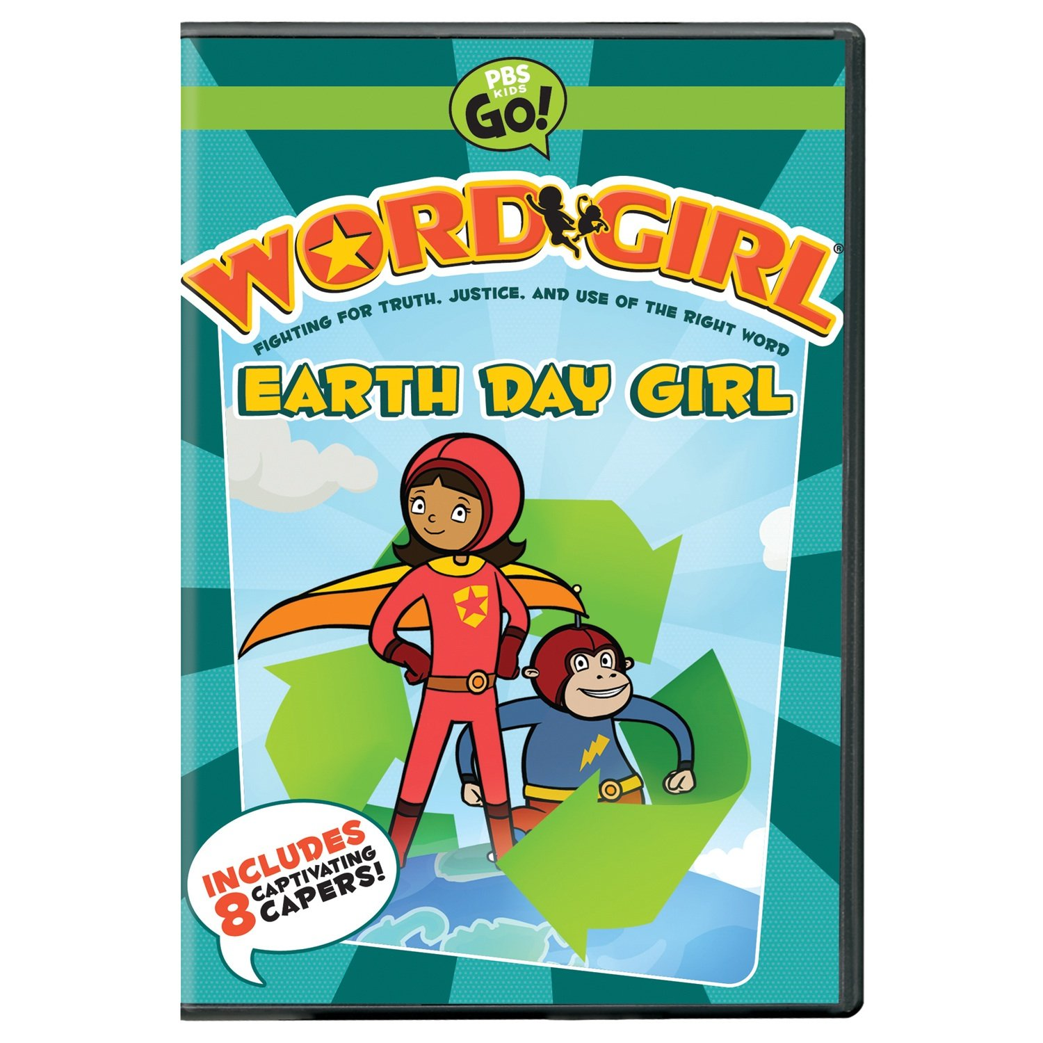 amazon com wordgirl earth day produced by soup to nuts
