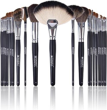 Shany Cosmetics NY Collection Pro – Kit de pinceles y brochas de maquillaje (con bolsa de color naranja 13 oz: SHANY: Amazon.es: Belleza