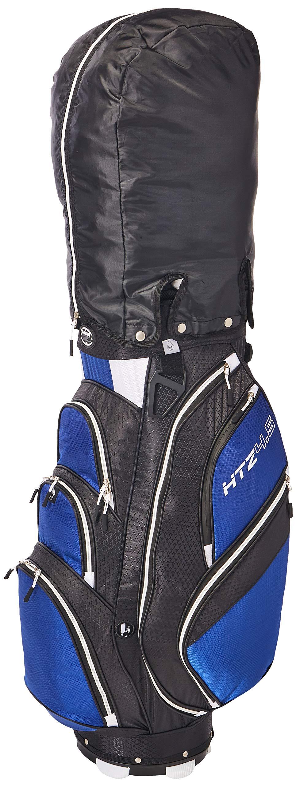 Hot-Z Golf 4.5 Cart Bag, Black/Cobalt