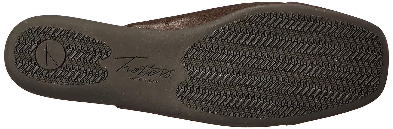 Trotters Women's Sarina Ballet Flat Brown/Patent B00RZV7WNU 11 B(M) US|Dark Brown/Patent Flat 1ab7c9