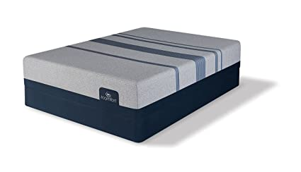 Amazoncom Serta Icomfort Blue Max 1000 Plush King Mattress