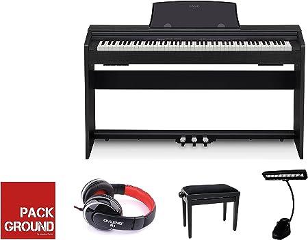 Pianos digitales Casio Fullpack Privia px-760bk negro Pianos ...