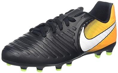 release date 84a01 5f64c Nike Jr. Tiempo Rio IV FG, Chaussures de Football Mixte Enfant, Noir (