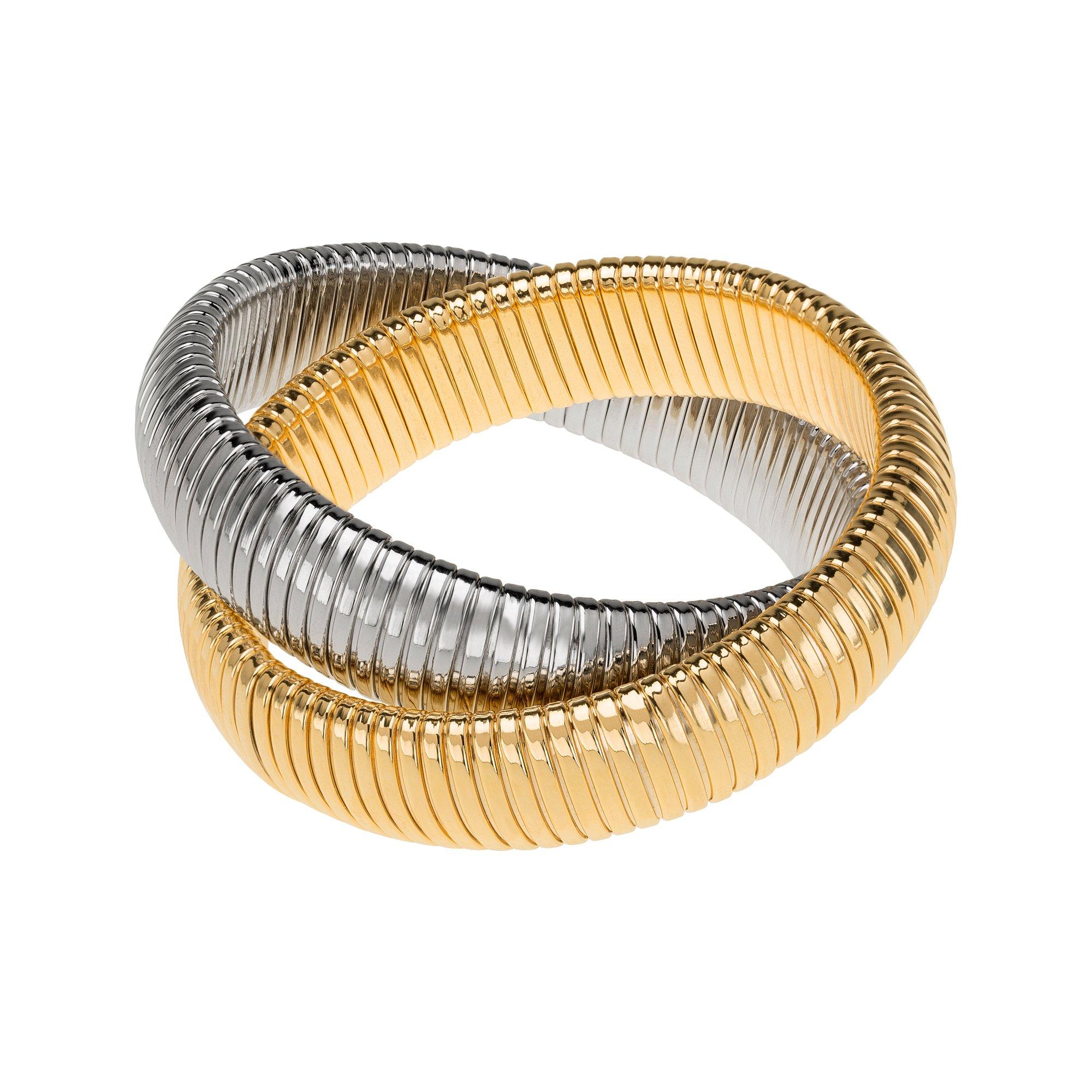 Janis Savitt Double Cobra Bracelet by JANIS BY JANIS SAVITT