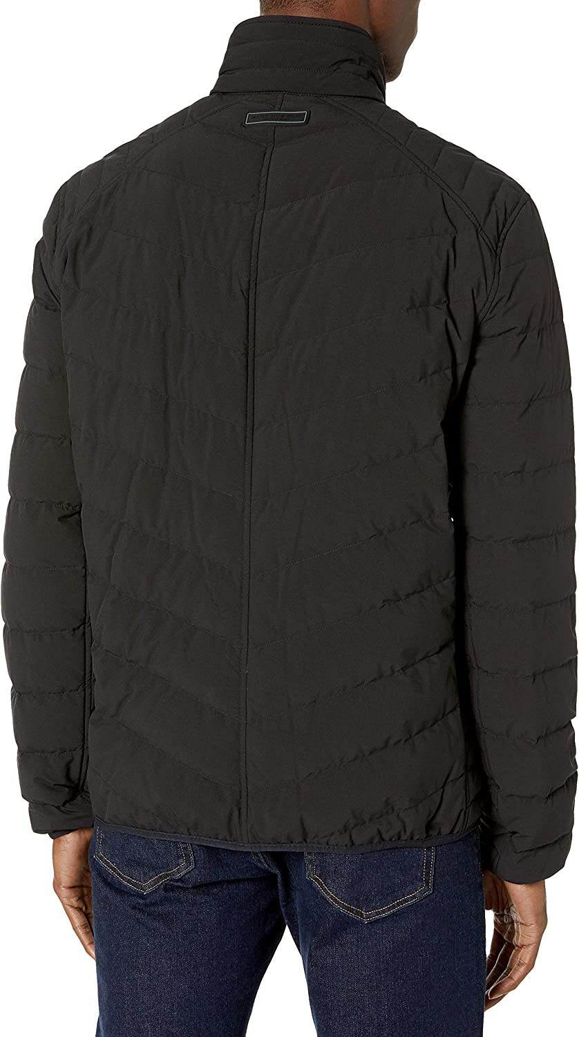 Marc New York by Andrew Marc Mens Bergen Ultra Stretch Packable Jacket