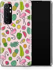 covery cases Silicon Back Cover For Xiaomi Mi Note 10 Lite - Multi Color , 2725609605385