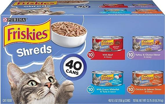 Purina Friskers Cat Wet Food