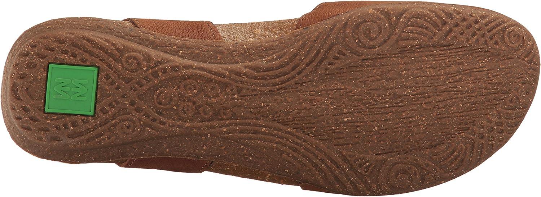 El Naturalista N412, Sandales Bout fermé Femme Marron Wood
