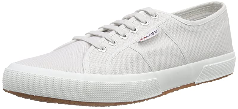 Superga 2750 Cotu Classic Sneakers Low-Top Unisex Damen Herren Grau (Grey Vapor)
