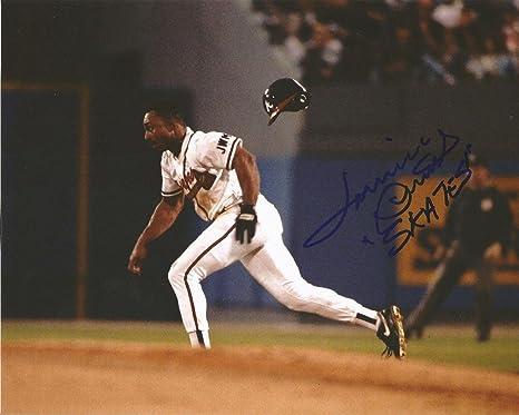 1991 Topps Lonnie Smith Atlanta Braves 306