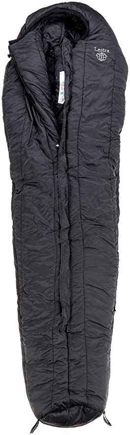 LESTRA Extrême - Saco de Dormir Momia para Acampada, Talla 230x80 cm